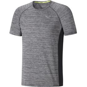 Mizuno Alpha Hardloopshirt korte mouwen Heren grijs